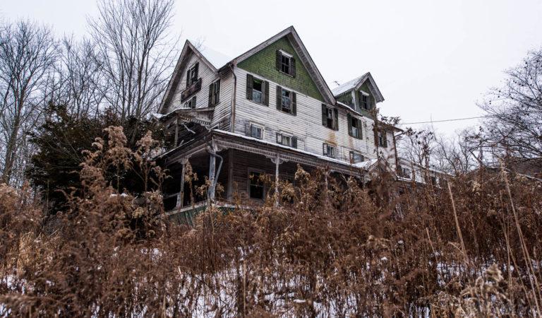 Kenoza Dell Abandoned House from New York